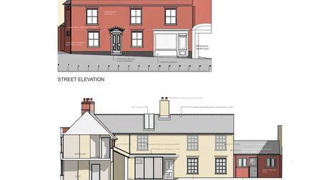 Plans to alter internal and external parts of the Grade 2 listed building have been submitted to mak