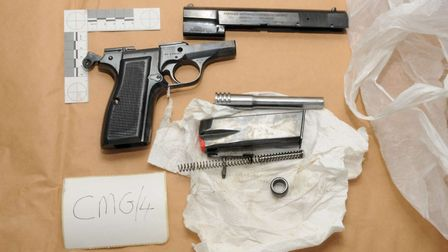Armed police raids took place in various locations Picture: MET POLICE