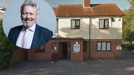 Giles Watling, MP for Clacton, has been campaigning for better services at four GP surgeries in Esse