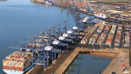 Port of Felixstowe. Picture: MIKE PAGE / COURTESY OF THE PORT OF FELIXSTOWE