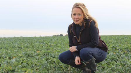 Laura Buckingham, arable inputs manager at Fram Farmers Picture: JULIAN COOKSLEY