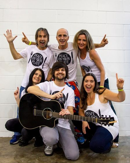 Peace On Your Plate will be performing at the Healthy Living Festival at Clare Town Hall Picture: N