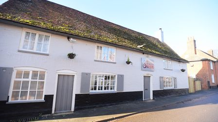 The Alderton Swan pub is set to close on Christmas Eve Picture: GREGG BROWN