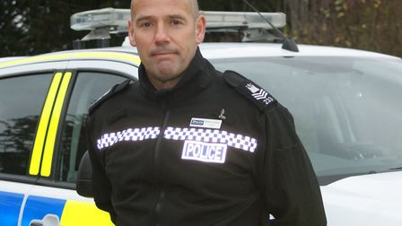 Sgt Brian Calver of the Rural and Wildlfe Crime Team Picture: SARAH CHAMBERS