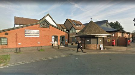 The new East Anglia's Children Hospice shop will be taking over the Woodbridge Carper Co. shop. Pict