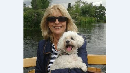 Valerie Grove and her dog Beau were struck by a van in Clacton Picture: ESSEX POLICE