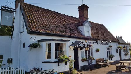 The Parrot at Aldringham before the flooding Picture: CHRIS THEOBALD