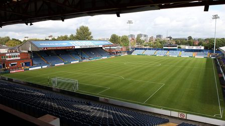 General view of Edgeley Park, home of Stockport County. Picture: MICHAEL SEDGWICK/FOCUS IMAGES