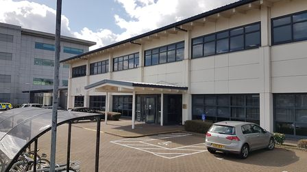 The Coroners Court at Beacon House, White House Road, Ipswich Picture: ADAM HOWLETT