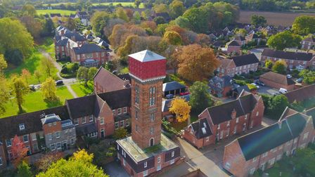 the water towner in Melton is over 100 feet tall, with views stretching to the River Deben Picture: