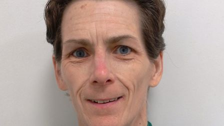 Susan McCann died in a collision with a lorry in Clacton on October 8. Picture: KINFAUNS VETINARY CE