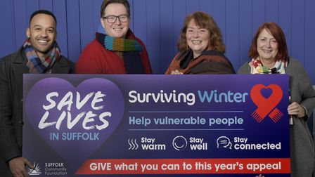 The Suffolk Community Foundation has now launched their appeals for the public to help the elderly a