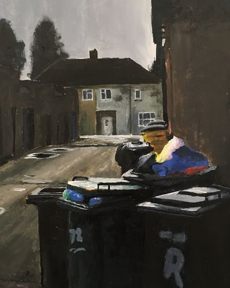 The Beauty In What Is Left Behind, Louise Batchelor, Ipswich High School, winner of the Anna Airy aw