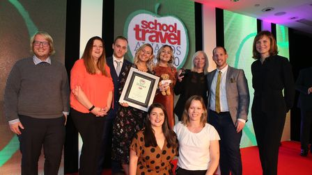 Staff from Suffolk-based Go Ape received the UK's Best Attraction at the 2019 School Travel Awards.