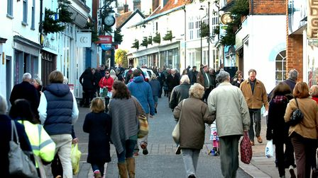 East Suffolk Council says it will be offering free parking again this Christmas Picture: SIMON PARKE