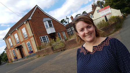 Campaigners are hoping to buy the Admiral's Head pub in Little Bealings. PICTURE: RACHEL EDGE