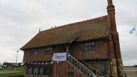 The Moot Hall ready for its opening event Picture:ALDEBURGH MUSEUM