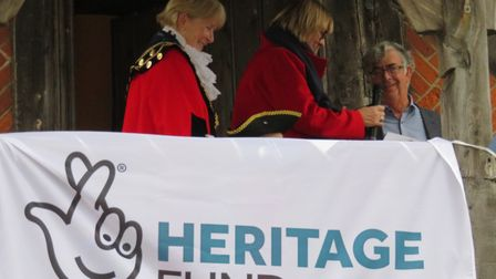 Preparations are made to open up Moot Hall Picture: ALDEBURGH MUSEUM