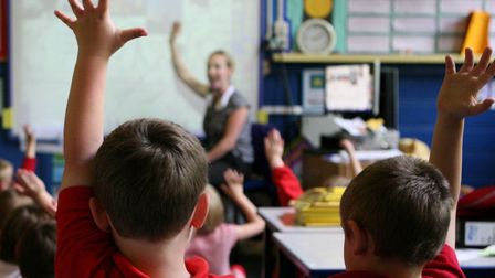 Concerns have been raised about the growing number of large class sizes Picture: Dave Thompson/PA Wi
