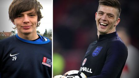 Former Ipswich Town and Bury Town goalkeeper Nick Pope made his full England debut v Kosovo Picture: