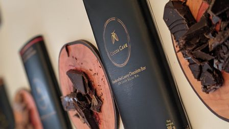 Cocoa Cave is a new chocolatier from former military man Aaron Kenny Picture: Zoe Noyes Photography