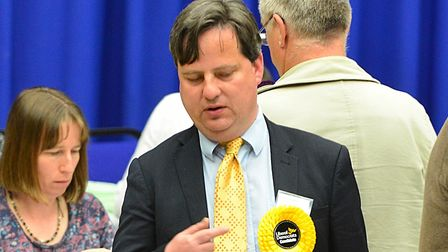 James Sandbach is hoping to win the seat for the Liberal Democrats. Picture: SIMON PARKER