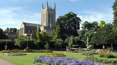 Bury St Edmunds is a popular place to live - which has pushed up house prices considerably. Picture