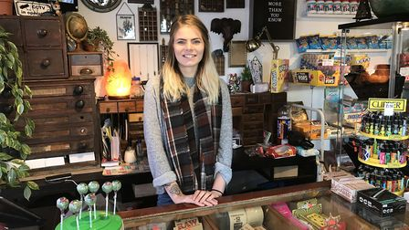 Lawra Stubbs, owner of Miss Quirky Kicks in Ipswich hopes more people will shop at independent store