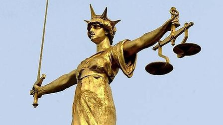 The Scales of Justice Picture: ARCHANT LIBRARY