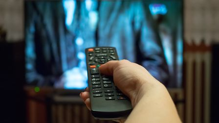 Watching TV. Picture: Getty Images/iStockphoto