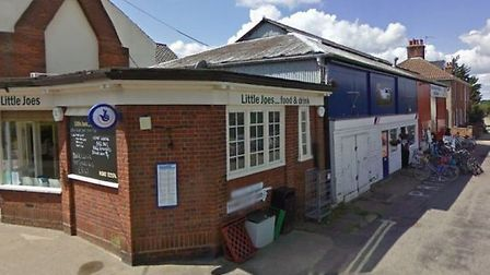 The site for the new enterprise hub on the corner of Blyth Road and Station Road, Southwold Picture: