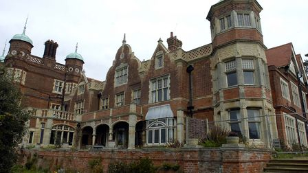 Bawdsey Manor Picture: LUCY TAYLOR