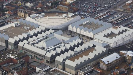 The woman was hit in the car park of the Arc shopping centre on the site of the former cattle market