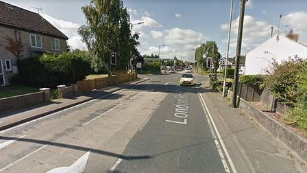 The emergency services were called to London Road in Brandon this evening. Picture: GOOGLE MAPS