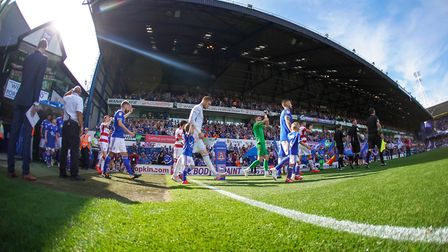 Ipswich Town finally return to league matters at home to Blackpool this Saturday. Picture: STEVE WAL