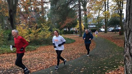 Action from last weekend's 235th Luton Wardown parkrun, held in bright, autumnal conditions. Picture