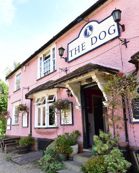 The Dog at Grundisburgh has been voted the most dog-friendly pub for the second year in a row. Pictu
