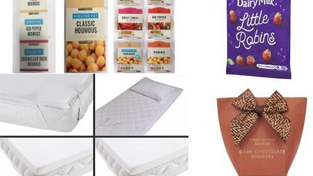 Some of the products being recalled by Trading Standards UK. Picture: TRADING STANDARDS