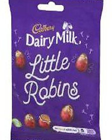 Cadbury Dairy Milk Little Robins are being recalled. Picture: TRADING STANDARDS UK