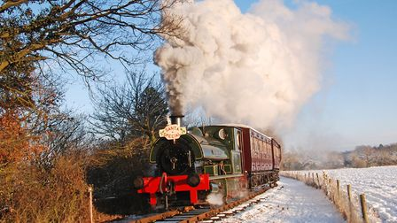 The Santa Special will be running again at various locations this December Photo: Archant