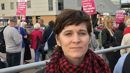 Tina McKay is standing for Labour in Colchester. Picture: JAKE FOXFORD