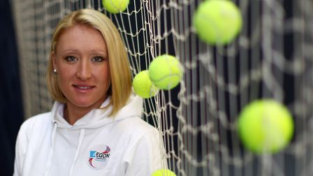 A new film has been made about the life and legacy of Ipswich tennis star Elena Baltacha Picture: JU