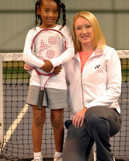 Elena Baltacha's legacy lives on in her foundation Picture: NINO SEVERINO