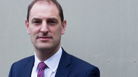 Detective Chief Superintendent Eamonn Bridger of Suffolk police Picture: SUFFOLK CONSTABULARY
