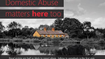 Suffolk police are focussing on rural areas as part of the annual White Ribbon campaign Picture: SU