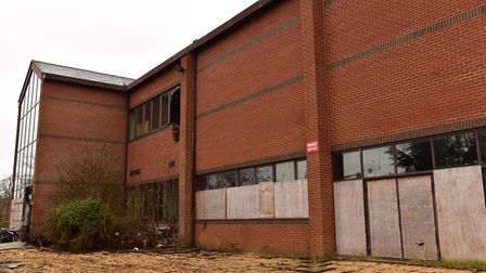 The old Angel Theatre in Rendlesham is one of the brownfield sites in East Suffolk. Picture: SARAH L