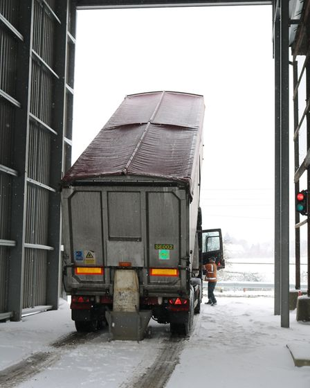 It was business as usual at malt firm Muntons as the 'Beast from the East' struck in February 2018 P