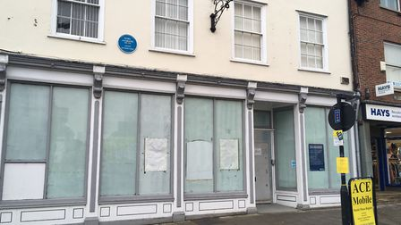 The former RBS branch in Bury St Edmunds may become an Italian restaurant Picture: MARIAM GHAEMI