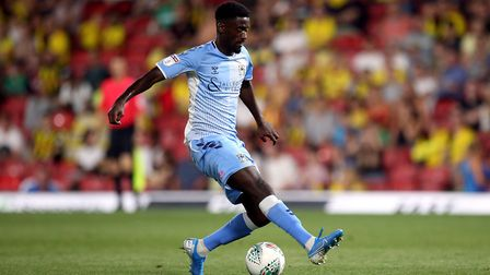 Jordy Hiwula has boosted Coventry's forward options after returning from injury. Photo: PA