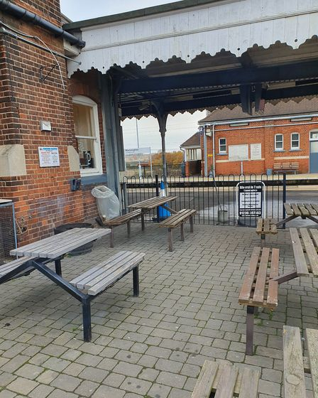 The Station Buffet in Manningtree Railway Station is under threat from a new business application. P